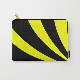 Swoopy  |  Black and Yellow Carry-All Pouch