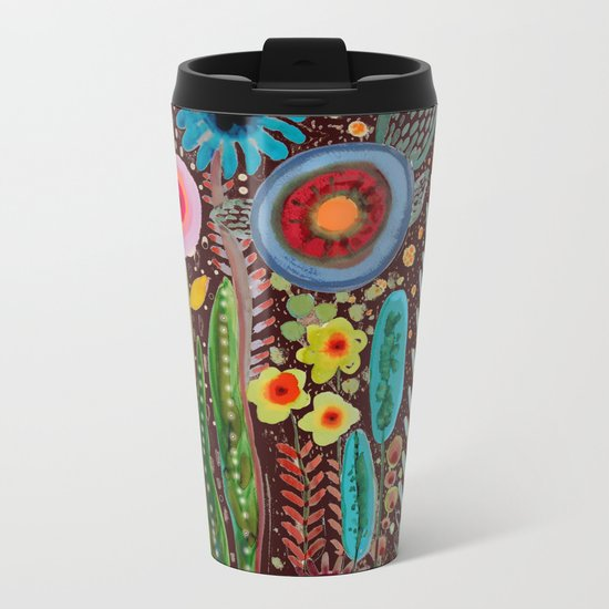 jardinage Metal Travel Mug