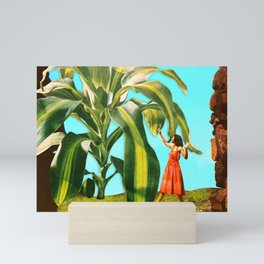 Attack plant Mini Art Print