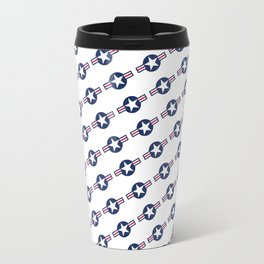 US Air force Roundel insignia - Pattern version Travel Mug