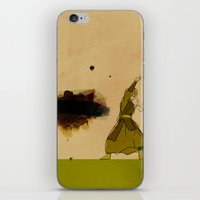 airbender iPhone & iPod Skins featuring Avatar Kyoshi by daniel