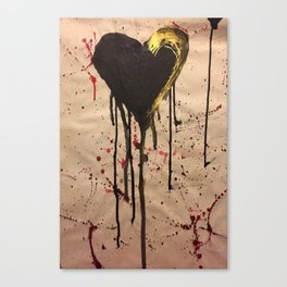 Tainted Heart Canvas Print