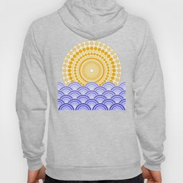 LIGHT OF DAWN (abstract tropical) Hoody