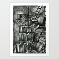 In pencil season Art Print