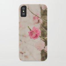 Spring Peach Blossom iPhone X Slim Case