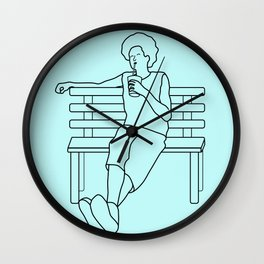 Chillax Wall Clock