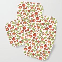 Rococo Floral Pattern #5 Coaster