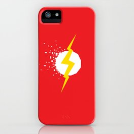 Square Heroes - Flash iPhone Case
