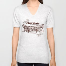 5th Annual Chocolate on the Beach Festival Unisex V-Neck