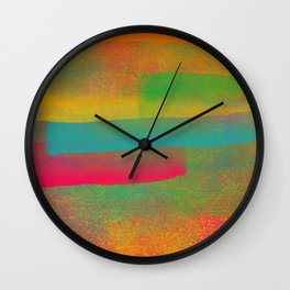 Nebulosa de Cores Wall Clock