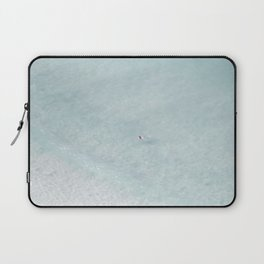 beach - the swimmer Laptop Sleeve