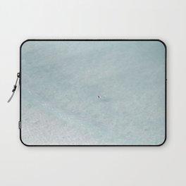 beach - the swimmer Laptop Sleeve