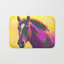 Horse, Wild Bath Mat