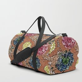 Old Fashioned Roses Duffle Bag