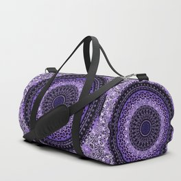 Purple Tapestry Mandala Duffle Bag