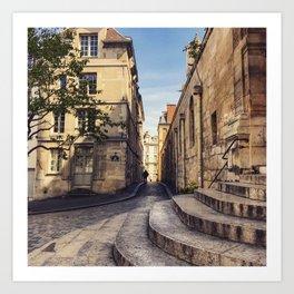 Shades of Paris Art Print