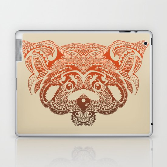 Polynesian Red Panda Laptop & iPad Skin