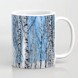 Birch Trees. Early Spring Coffee Mug