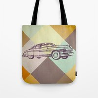 car Tote Bags featuring Car by Mr and Mrs Quirynen