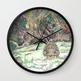 RHX Forest Logo Wall Clock