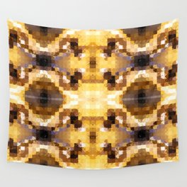 Autumn Tiles Wall Tapestry