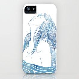 Undine I iPhone Case