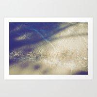 Soft Waves Art Print