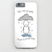 Rain Rain Go Away! iPhone 6s Slim Case
