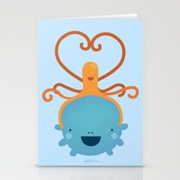 best friends Stationery Cards featuring Best Friends by Piktorama