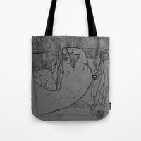 general Tote Bags featuring General by john jewell