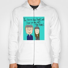 I will show you who can't time travel Hoody