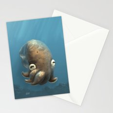Olive Cuttle Stationery Cards