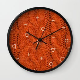 Orage Sweater Wall Clock