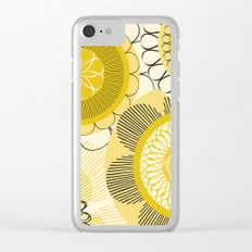 Look at the shining flowers!!! Clear iPhone Case