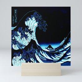 the Great Wave Blue Mini Art Print