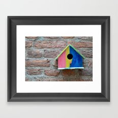 Birdhouse 2 Framed Art Print