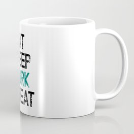 Eat Sleep Work Repeat Coffee Mug
