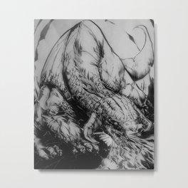 Dragon Type Metal Print