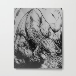 Dragon Type Metal Print