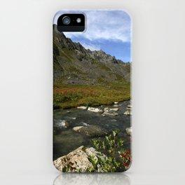 Hatcher Hike - Alaska iPhone Case