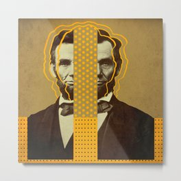 AbracadAbraham - Lincoln Metal Print