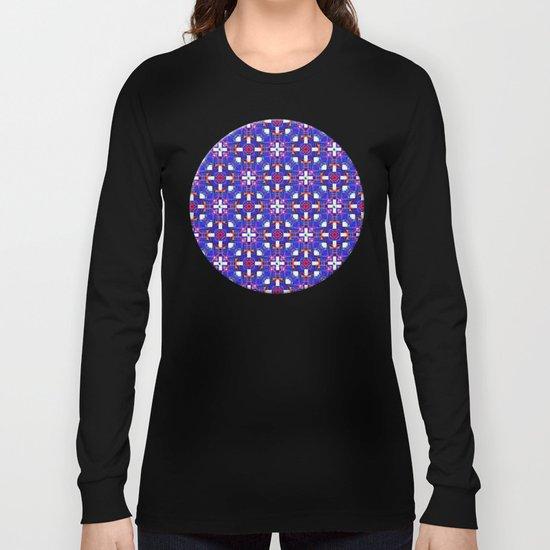 Cobalt Intersect Long Sleeve T-shirt