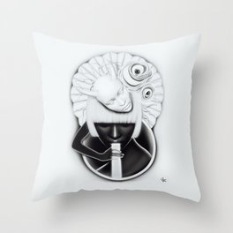 """Obake"" Throw Pillow"