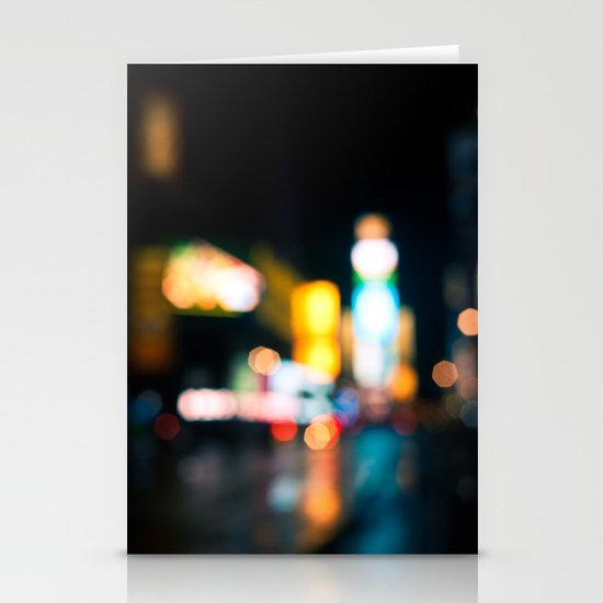 Times Square Empty Stationery Cards