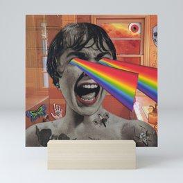 Rainbow Eyes Mini Art Print