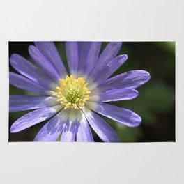 Blue Anemone Rug
