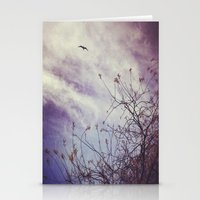 flight Stationery Cards featuring FLIGHT by ALLY COXON