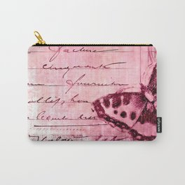 pink postage Carry-All Pouch