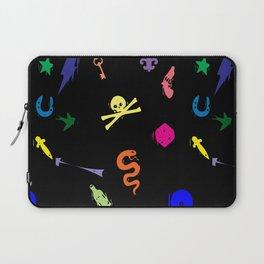 Bully Print Rainbow Laptop Sleeve