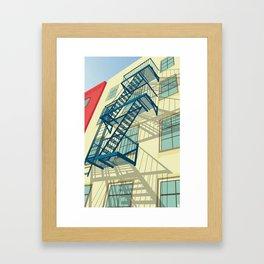 NYC greenwich village Framed Art Print